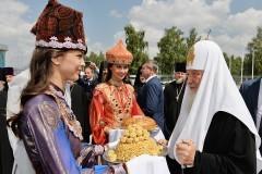 Патриарх Кирилл: Взаимодействие православных и мусульман Татарстана имеет проекцию на всю страну