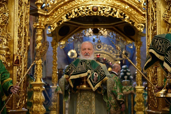 Патриарх Кирилл: Преподобный Сергий побеждал зло добром