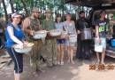 Приходы Украинской Православной Церкви собрали провизию военным АТО