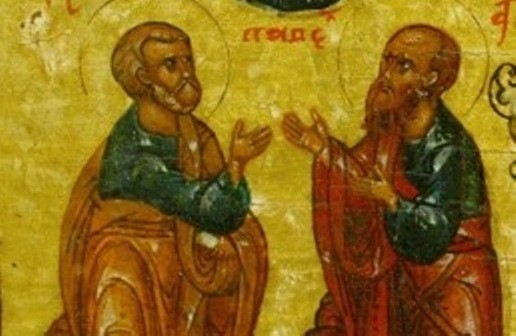 Церковь празднует память славных и всехвальных первоверховных апостолов Петра и Павла