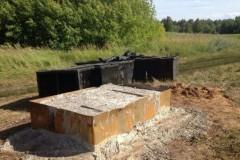 Неизвестные срезали 6-метровый поклонный крест в Татарстане