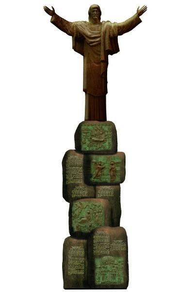 Образ Христа - Страница 2 Statuya-Hrista-TSereteli-400x600
