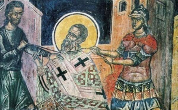 Церковь чтит память священномученика Панкратия, епископа Тавроменийского