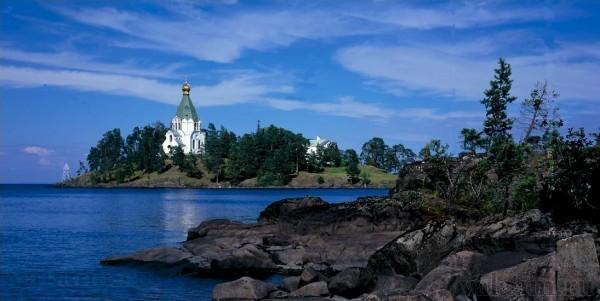 Патриарх Кирилл освятил часовню в честь Всех Валаамских святых на Валааме