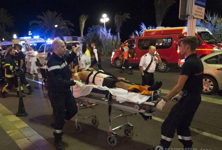 Свидетели теракта — о событиях в Ницце