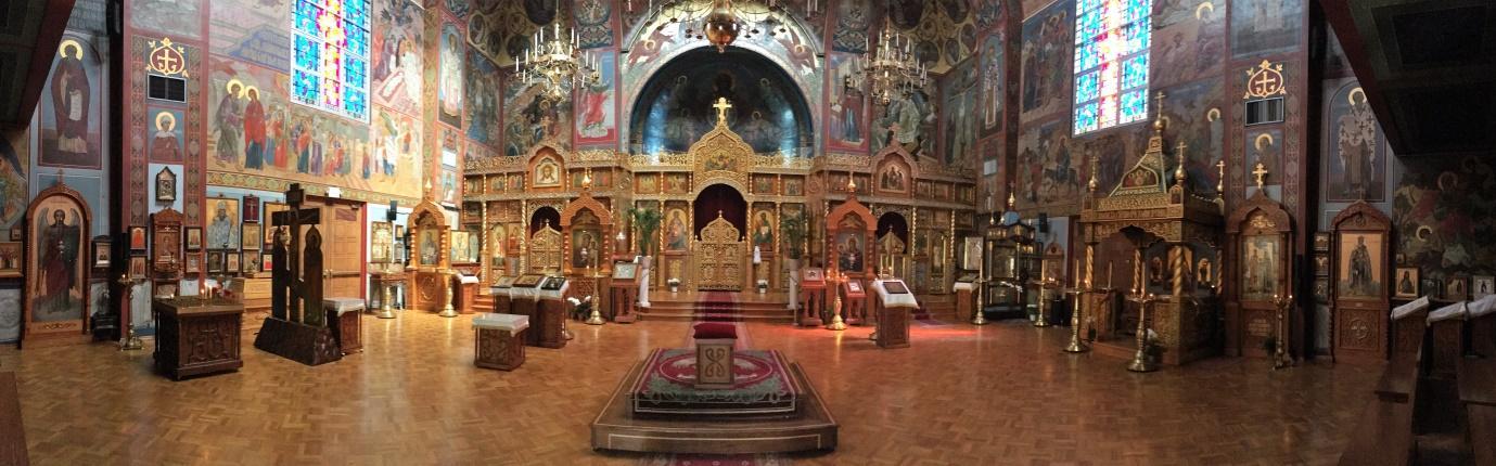 Внутреннее убранство Кафедрального Собора