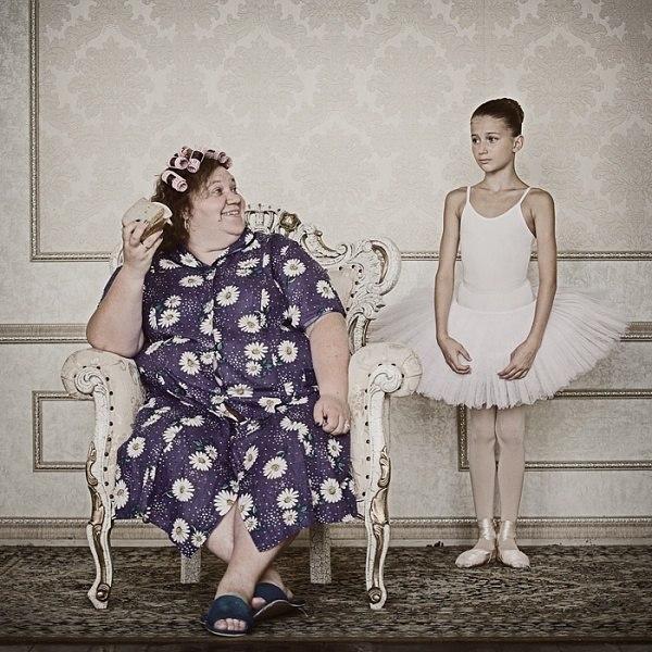 Из фотопроекта Анны Радченко «Оборотная сторона материнской любви»