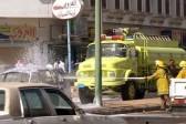 Житель Саудовской Аравии, рискуя жизнью, предотвратил взрыв на заправке