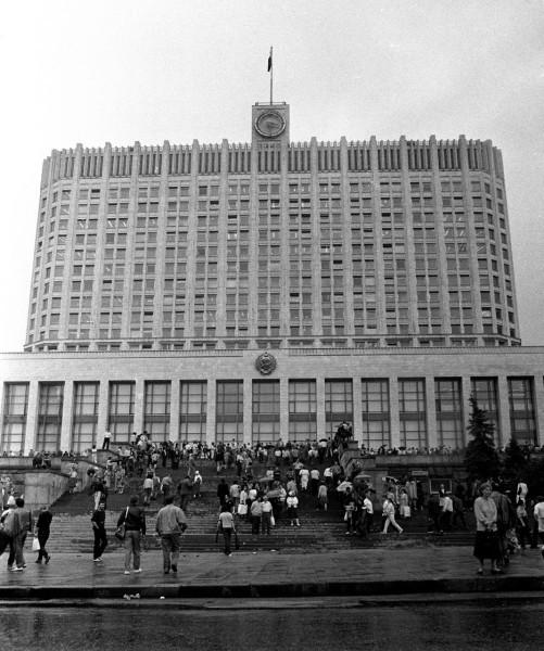 19 августа_Дом Советов РФ (Белый дом)