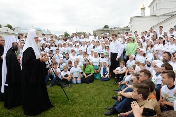 Фото: Пресс-служба Патриарха/Олег Варов