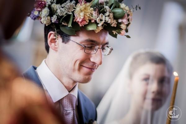 Первая в истории Санкт-Петербургской духовной академии венчальная Литургия. Фото с сайта СПбДА