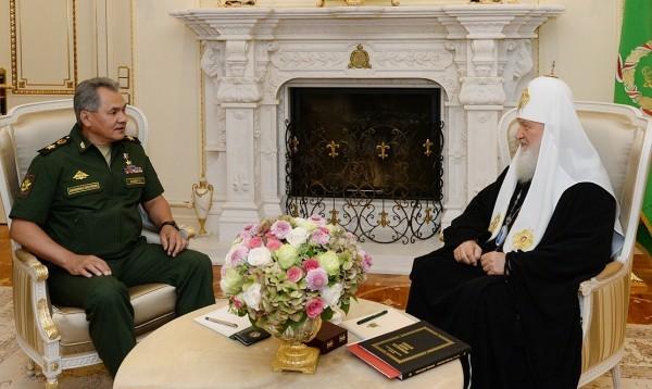 Сергей Шойгу: Труд Церкви повлиял на нравственное состояние в армии