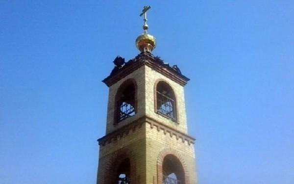 В Донецкой области снаряд попал в Храм Архангела Михаила