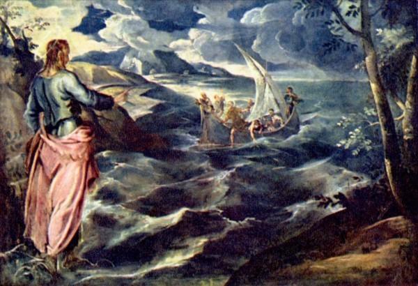 Тинторетто (Якопо Робусти). «Христос на Тивериадском озере»
