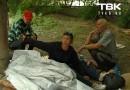 В Красноярске бездомные кормили брошенную на помойке 9-месячную девочку