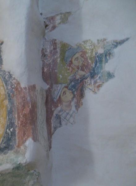 Фрески на южной стене. Рождественские волхвы