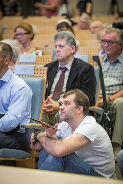 Пресс-конференция Федора Конюхова