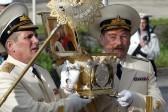 Мощи праведного Феодора Ушакова доставили на камчатскую базу Тихоокеанского флота