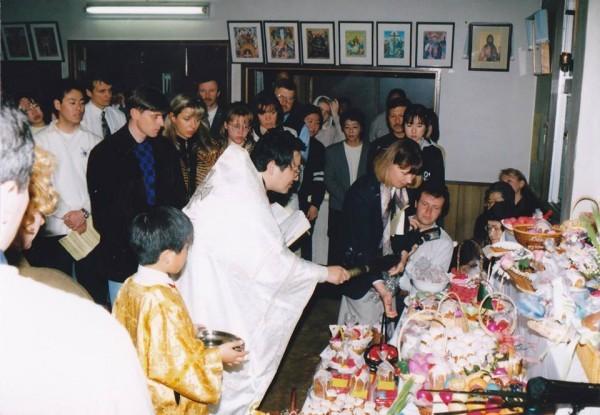 Нагоя. Пасха, 1996