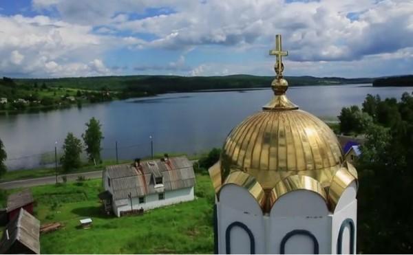 Карельское чудо. Спасо-Преображенский храм (видео)
