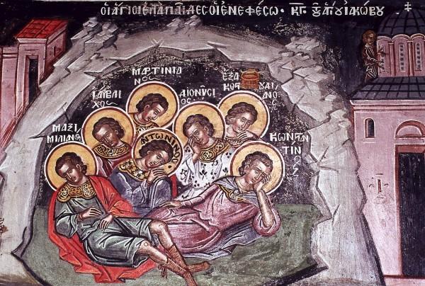 Церковь чтит память семи святых Ефесских отроков