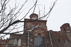 Реставраторы начали восстанавливать полуразрушенный храм в центре Петербурга