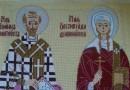 Святая Олимпиада и церковный корабль