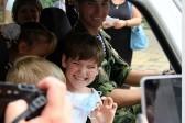 Десантники-победители «Армейских игр» подарили машину детям-инвалидам
