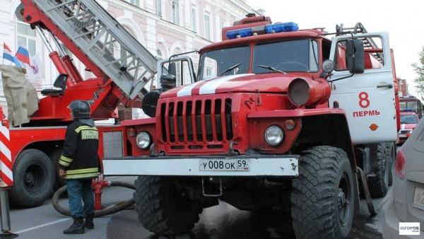 Пермский полицейский спас ребенка во время пожара