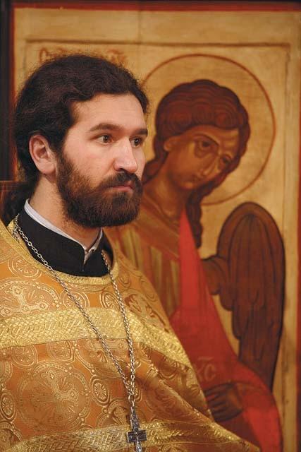 Священник Иван Воробьев