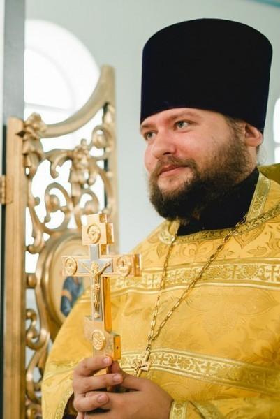 Священник Максим Горожанкин. Фото: peschanka.cerkov.ru