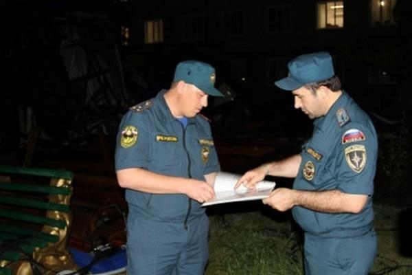 На Чечню обрушился ураган, есть жертвы и разрушения