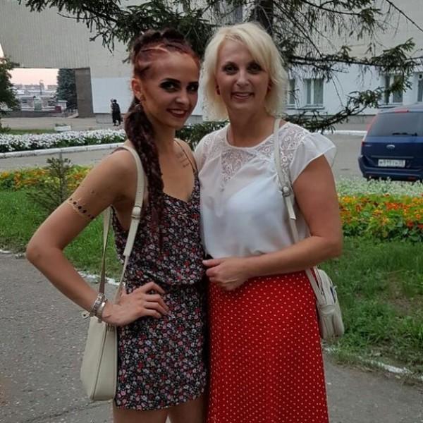 Нина Маляренко с мамой