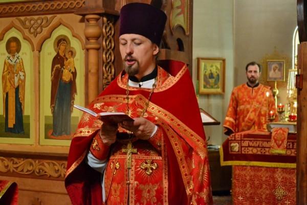 Протоиерей Александр Войтенко. Фото: semhoz.cerkov.ru