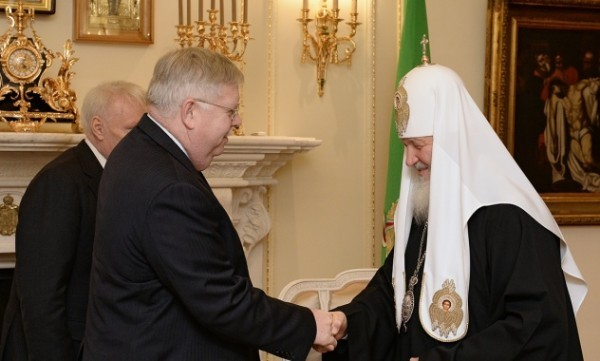 Патриарх Кирилл встретился с послом США в России