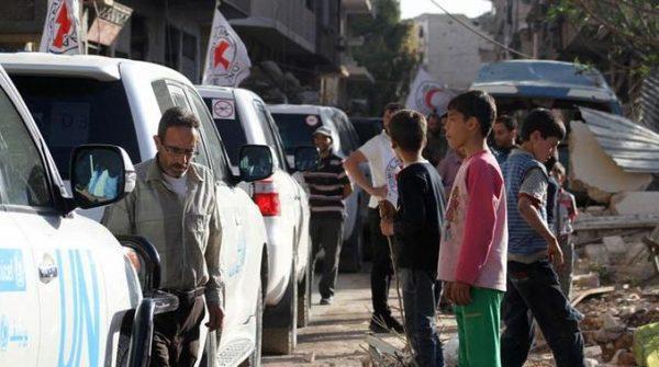В Сирии разбомбили гуманитарную колонну, есть жертвы