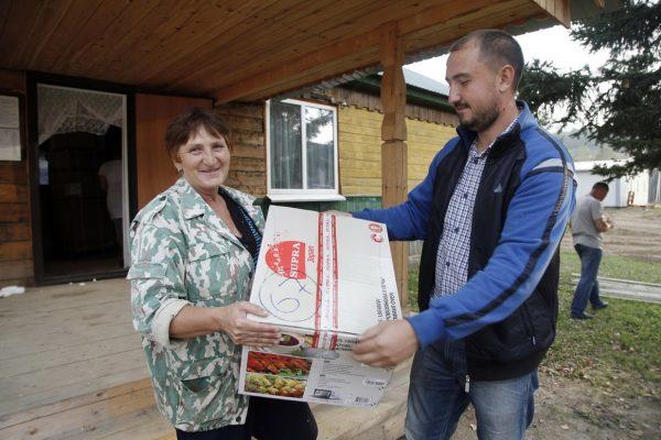Церковь закупила бытовую технику для пострадавших от наводнения в Приамурье