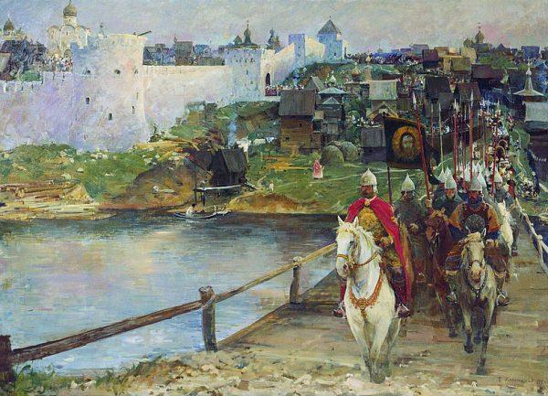 Художник Евгений Данилевский