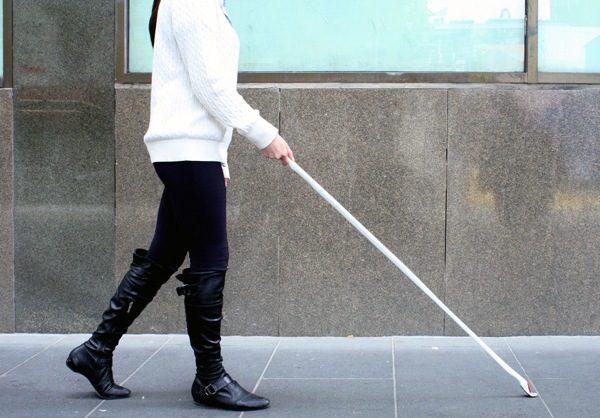 В Пензе создали гаджет, заменяющий трость для слепых