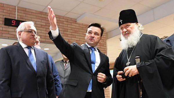 """Патриарх Кирилл: """"Дай Бог, чтобы выбор, который делает сегодня страна, был во благо Отечества нашего"""""""