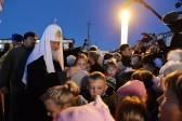 Патриарх Кирилл: Мы идем в храмы, потому что выходим из них другими
