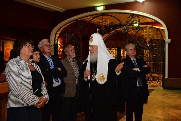 Патриарх Кирилл: Никакого конфликта между Церковью и музейщиками нет