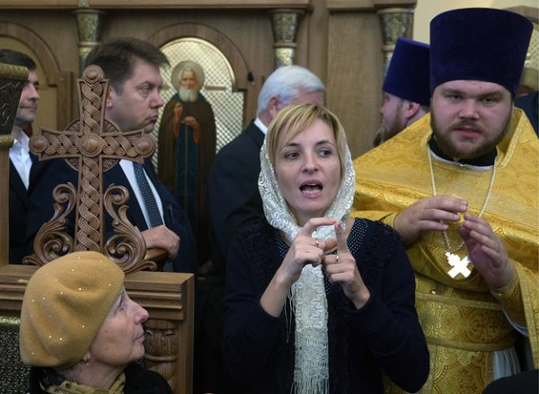 Patriarch Kirill of Moscow and All Russia conducts liturgy using sign language interpreting for the hearing impaired