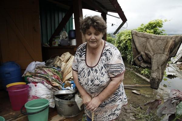 Жизнь на чердаке: как выживают пострадавшие от наводнения в Приморье