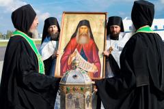 300 тысяч верующих поклонились мощам преподобного Силуана Афонского в России и Белоруссии