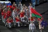 Белорусских паралимпийцев накажут за российский флаг