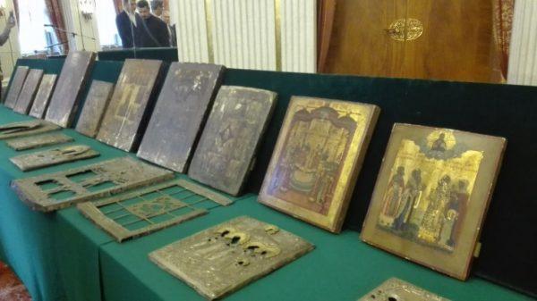 Русской Церкви вернули иконы, вывезенные в Германию во время ВОВ
