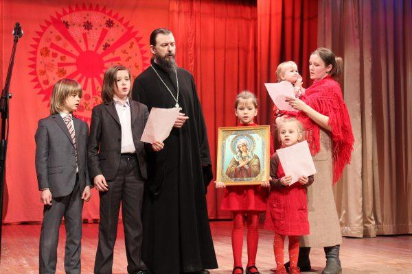 Отец Антоний с семьей. Фото с личной страницы ВКонтакте