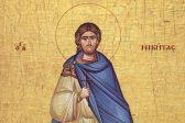 Церковь чтит память Святого великомученика Никиты Готфского