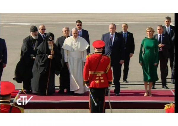 Папа Франциск: Мы готовы к обновленному диалогу с Грузинской Церковью